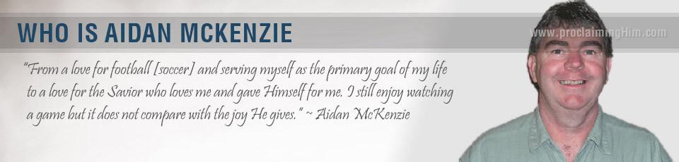 Who is Aidan McKenzie